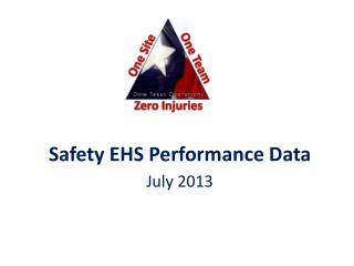 Safety  EHS Performance Data