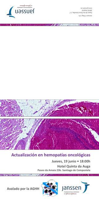 Actualización en hemopatías oncológicas