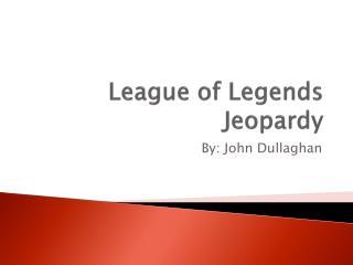 League of Legends Jeopardy