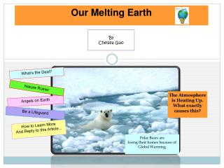 Our Melting Earth