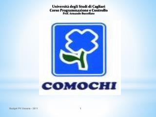 Università degli Studi di Cagliari Corso Programmazione e Controllo Prof. Armando Buccellato