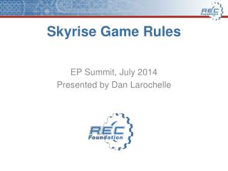 Skyrise  Game Rules