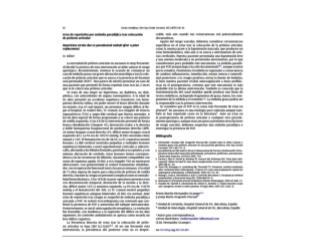 Ictus  de repetición por embolia paradójica tras  colocación de  prótesis articular