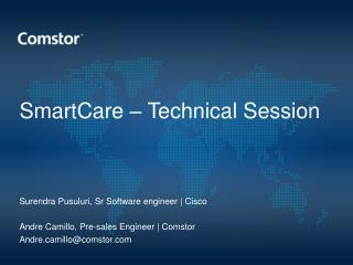 SmartCare  – Technical Session