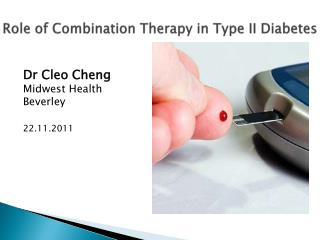 Role of Combination Therapy in Type II Diabetes