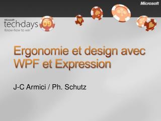Ergonomie et design avec WPF et Expression