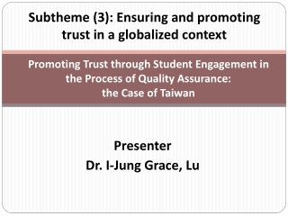 ensuring quality of method in quantitative educational research
