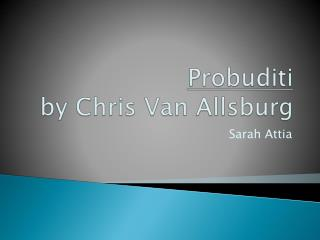 Probuditi by Chris Van Allsburg