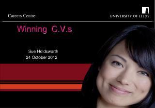 Winning  C.V.s