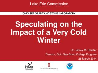 Speculating on the Impact of a Very Cold Winter