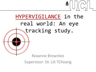 HYPERVIGILANCE  in the real world: An eye tracking study.