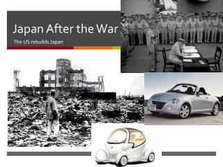 Japan After the War