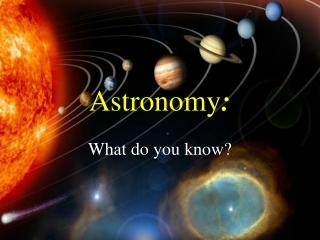 Uranus and Neptune Astronomy