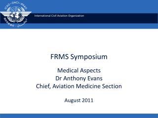 FRMS Symposium