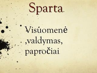 Sparta .