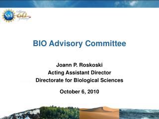 BIO Advisory Committee