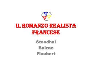 Il  romanzo  realista francese