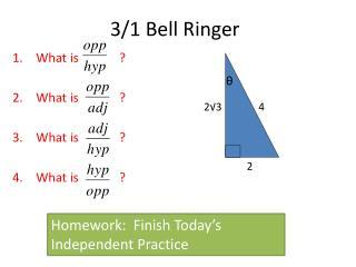 3/1  Bell Ringer