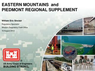EASTERN MOUNTAINS  and PIEDMONT REGIONAL SUPPLEMENT