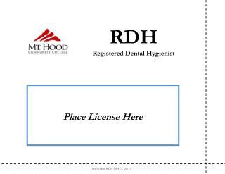 PPT - Dental Hygienist PowerPoint Presentation - ID:2109654