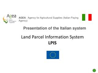 Presentation of the Italian system