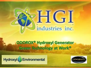 ODOROX® Hydroxyl Generator  Green  Technology at Work®