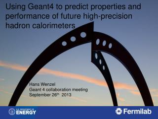 Using Geant4 to predict properties and performance  of future  high-precision  hadron calorimeters