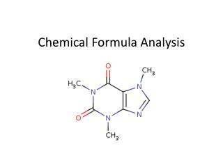 Chemical Formula Analysis