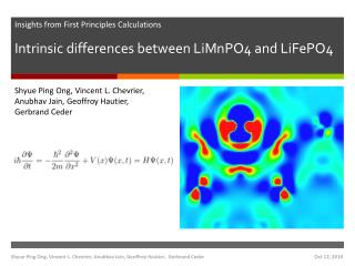 Intrinsic differences between LiMnPO4 and LiFePO4