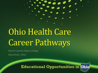 Ohio Health Care Career Pathways