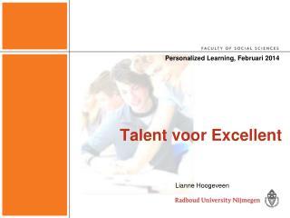Talent voor Excellent