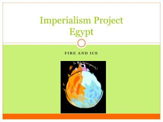 Imperialism Project Egypt
