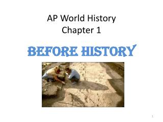 AP World History Chapter 1