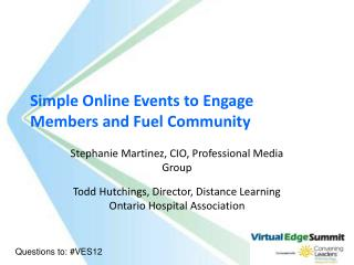 Simple Online Events to Engage Members and Fuel Community