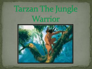 Tarzan The Jungle Warrior