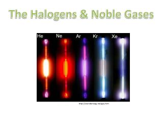 The Halogens & Noble Gases