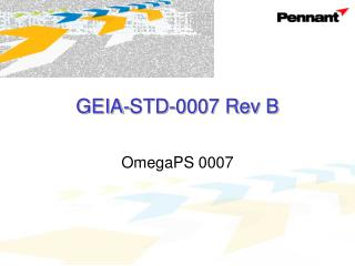 GEIA-STD-0007 Rev B