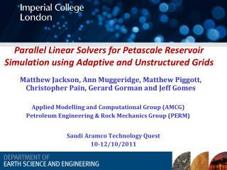 Saudi  Aramco  Technology Quest 10-12/10/2011