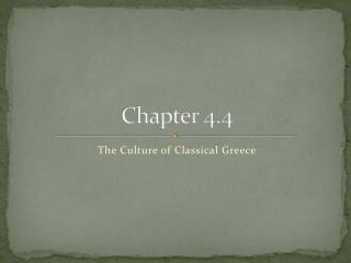 Chapter 4.4