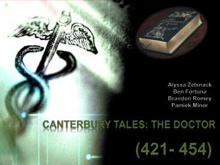 Canterbury  Tales:  The Doctor