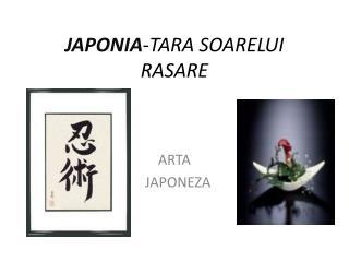 JAPONIA - TARA SOARELUI RASARE