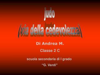 Di Andrea  M. Classe  2 C