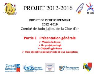 PROJET 2012-2016