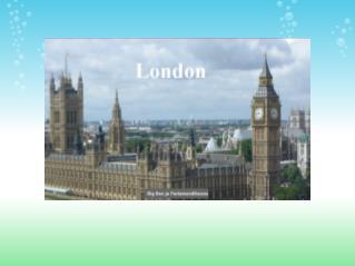 London kui pealinn