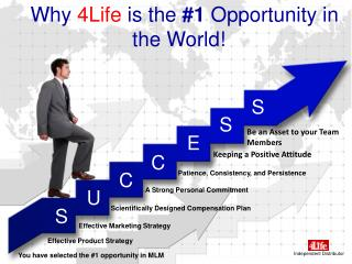 Why  4Life  is the  #1  Opportunity in the World!