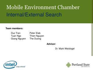 Mobile Environment Chamber Internal/External Search