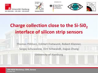 Charge  collection close to the  Si-Si0 2 interface of silicon strip sensors