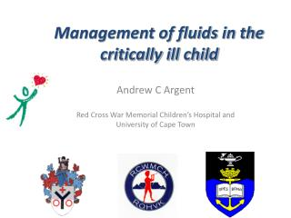 Management of fluids in the  critically ill child