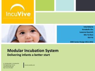 Modular Incubation System