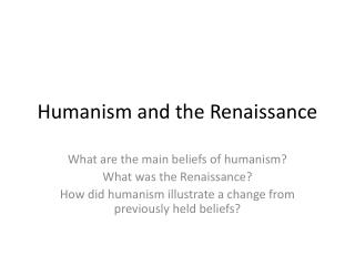 an overview of humanism as the rebirth of the classical studies Spanish renaissance (not to mention a spanish humanism) still obsessing the   congress of the spanish society of classical studies (1966), in many ways he.